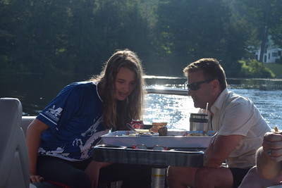 8.6.21 Crescent Lake pontoon trip