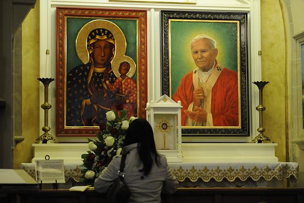 St. Stanislaus celebrates canonizations