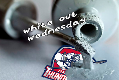 Ice Bears (7) v Evansville (2) 11-27-19 White Out Wednesday