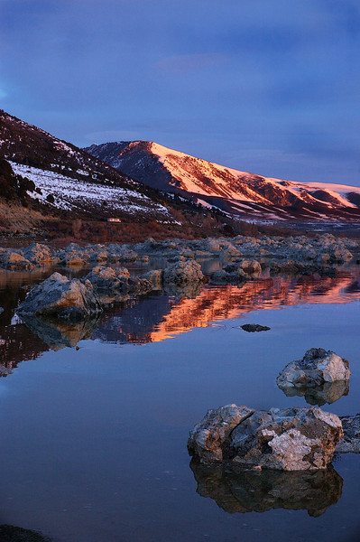 Mono Lake Sunrise  Eastern Sierra Nevada,  California