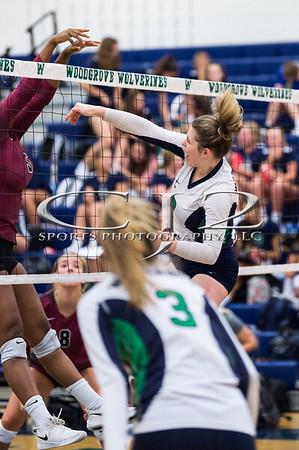 9-10-2019 Rock Ridge at Woodgrove Volleyball (Varsity)
