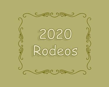 2020 Rodeos