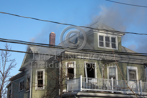 Arlington MA - 2 Alarms on Cleveland St