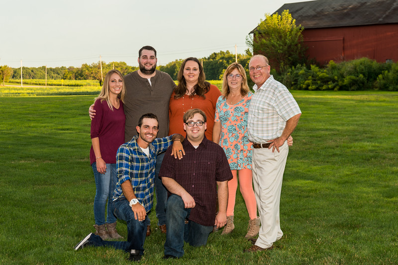Troy & Mary family pictures