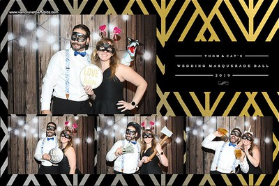 Thom & Cat's Wedding Masquerade Ball