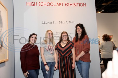 3/31/19 15th Annual High School Art Exhibition by Jim Bauer