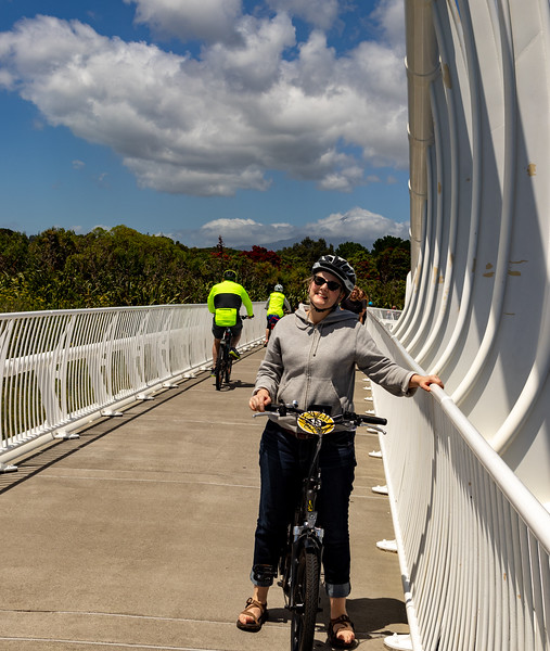 K on the Te Rewa Rewa Bridge