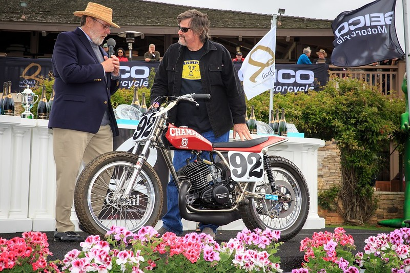 Quail Motorcycle Gathering - Award Winner - Husqvarna 360 Champion Flat Tracker Competition Off-Road.jpg