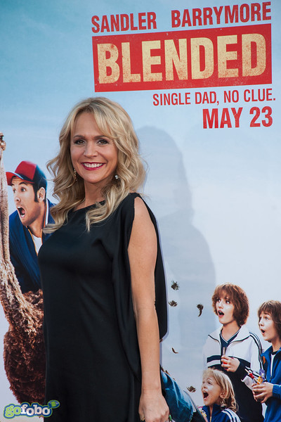 HOLLYWOOD, CA - MAY 21: Actress Barbara Alyn Woods arrives at the Los Angeles premiere of 'Blended' at TCL Chinese Theatre on Wednesday May 21, 2014 in Hollywood, California. (Photo by Tom Sorensen/Moovieboy Pictures)