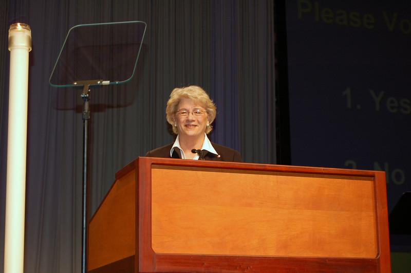 Janet Philipp from Dana College in Blair, Neb.