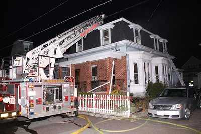 Malden, MA - Working Fire, 15 Cottage Place, 3-18-12