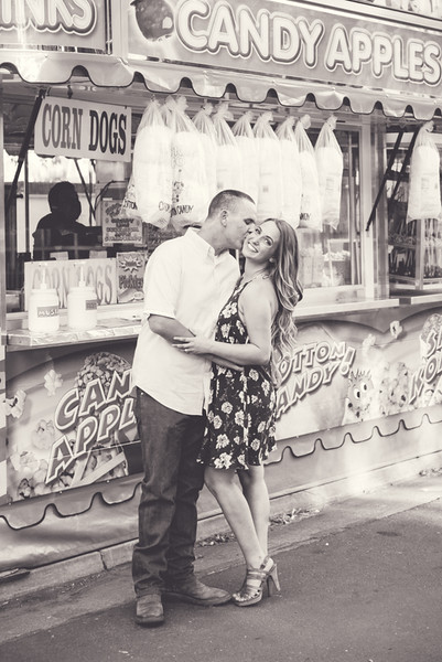 Dorothy & Anthony's County Fair Engagement