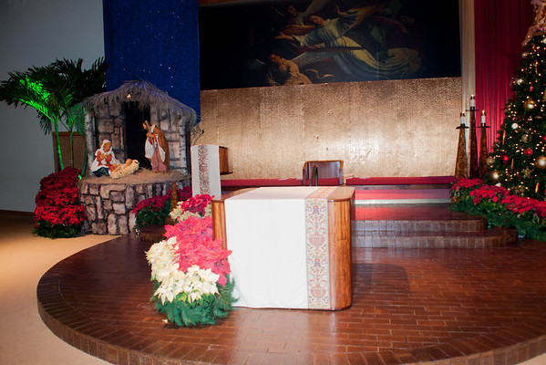 Christmas Day Mass - 12/25/2013 - Nancy Kay Lyons