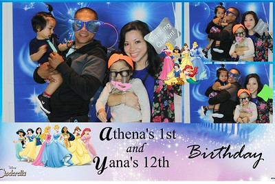 Athena and Yana's Birthday