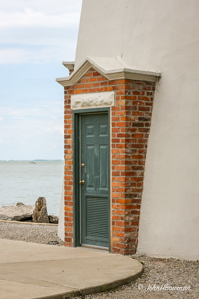 Marblehead Lighthouse (OH) - Entrance Door