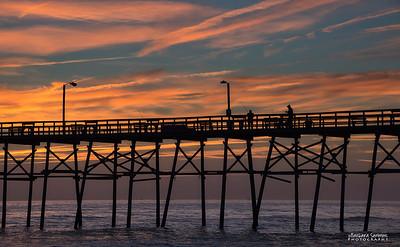 Just Fishin' - Yaupon Beach Fishing Pier-Oak Island, NC