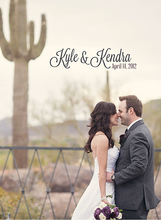 kendra & kyle wedding album
