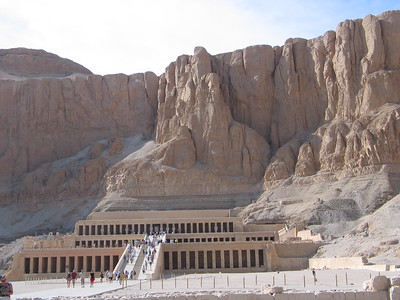 Thebes--Temple of Hapchepsut