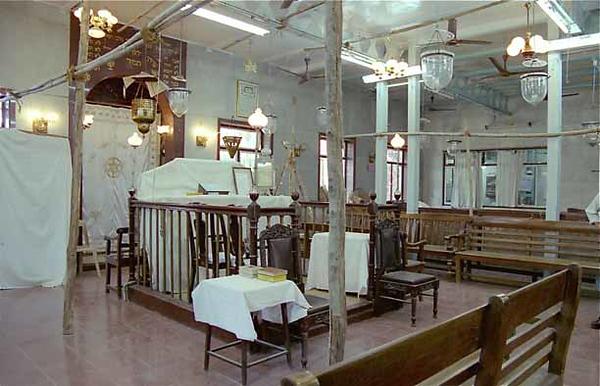 INDIA, Mumbai (Bombay). Tiphaereth (Tifereth) Israel Synagogue (renovations), 1886. (2001)
