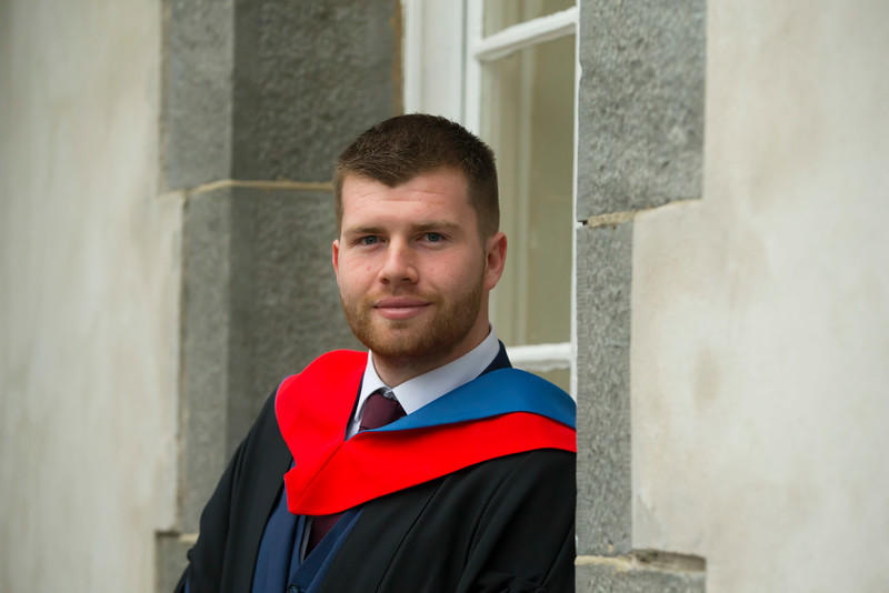 02/11/2017. Waterford Institute of Technology Conferring is Gavin Homan from Dublin. Picture: Patrick Browne.