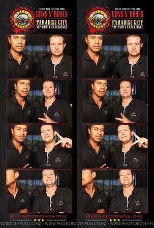 2017-02-04 Guns N Roses VIP Lounge (Auckland)