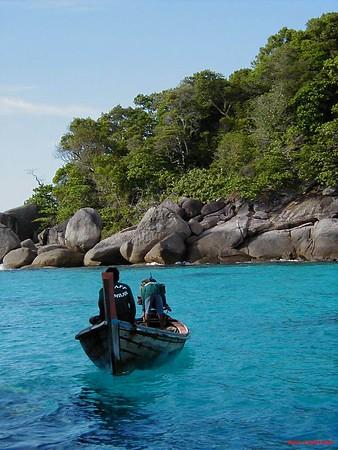 Thailand - Similian islands liveaboard