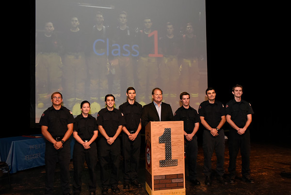 Wellington HS Fire Academy First Class Graduation