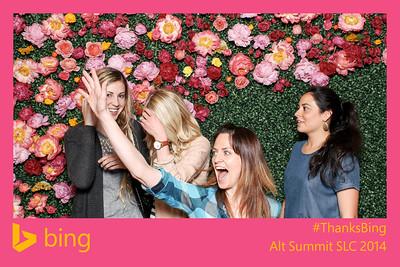 thanks bing @ alt summit - day 2