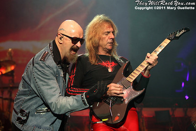 Judas Priest <br> November 20, 2011 <br> The Tsongas Center - Lowell, MA <br> Photos by: Mary Ouellette