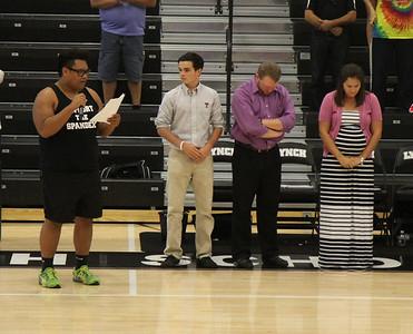 BL Varsity Volleyball District vs Parish @ BL (09/25/2014)