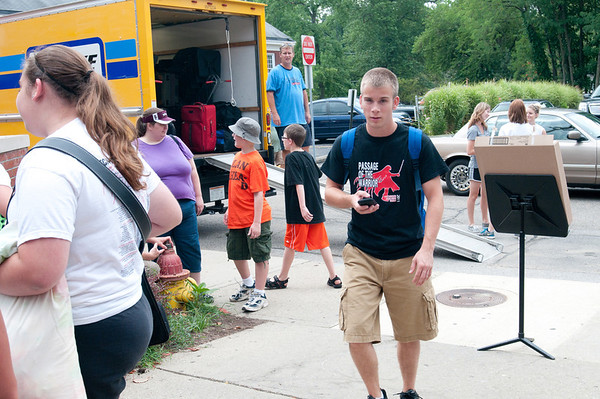 Band Camp Departure - July 15