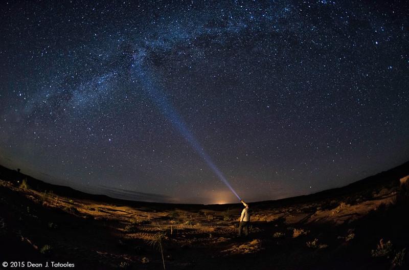 Milky Way from the Sahara