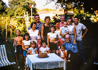 Ford, Collom, Moon Family Photos 1950's & 60's