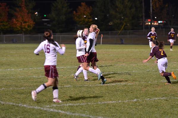 WMHS Girls Soccer vs Brunswick 2012