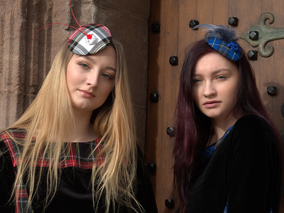 Aliscia & Anya Cooper at Glamis Castle