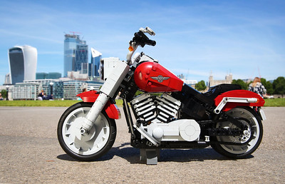 9/7/19 - LEGO® Creator Expert - Harley-Davidson® Fat Boy®