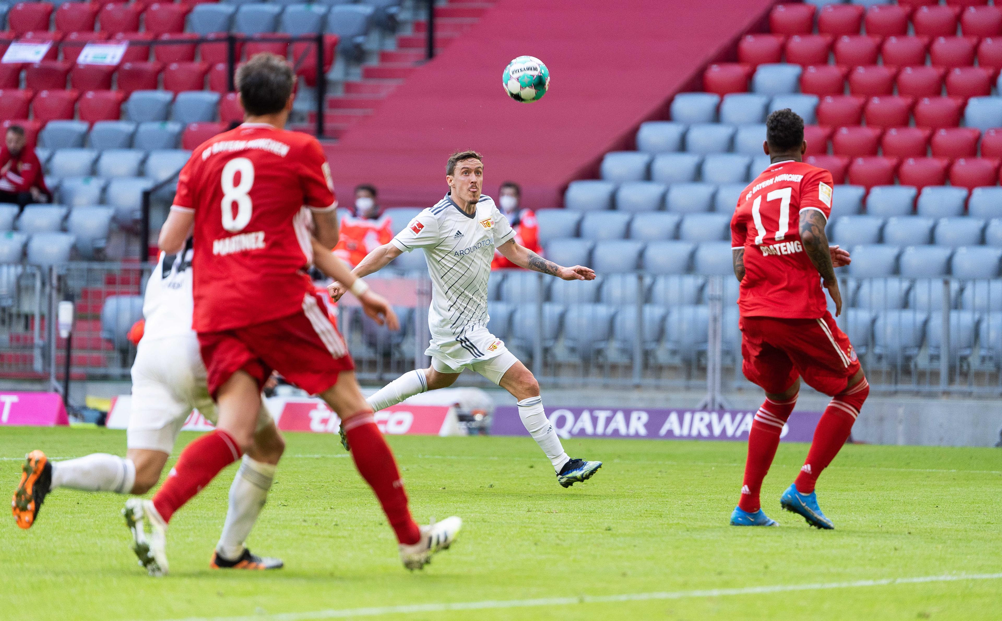 FC Bayern München gegen 1. FC Union Berlin - 1.Bundesliga