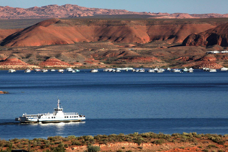 """Lake Powell"", Utah, ""Bullfrog Bay"", 0621"