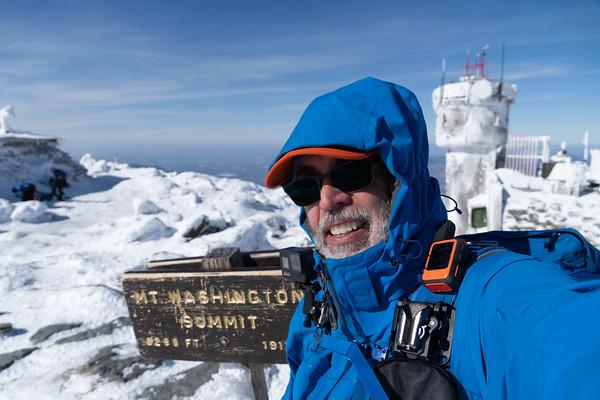 2020 Feb Mt Washington via Lion's Head
