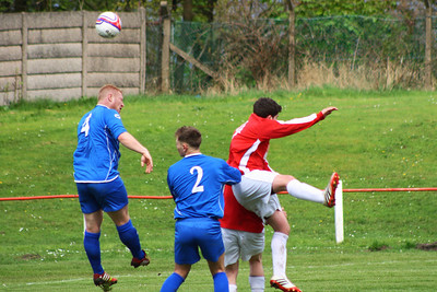 Johnstone Burgh 1 Lesmahagow 4 , New Coin Holdings West Of Scotland Cup Round Three, 26th April 2014