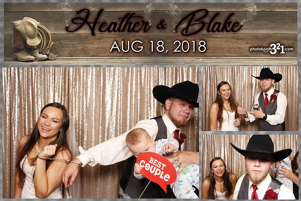 Heather and Blake Wedding 2018
