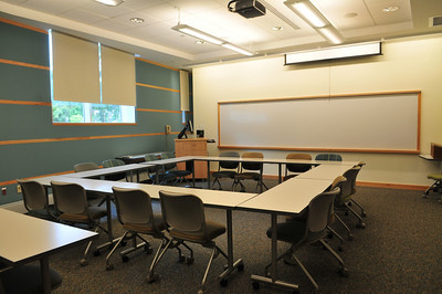 Bradford Aud. Inside and Morrill Classroom