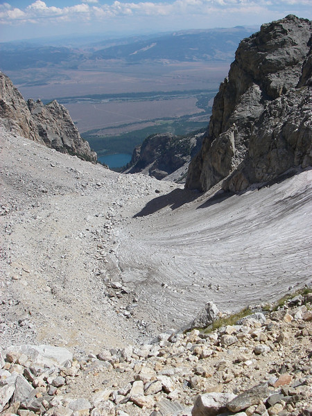View from Lower Saddle