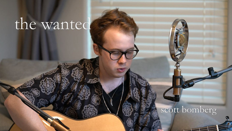 The Wanted (acoustic) - Scott Bomberg.mpeg