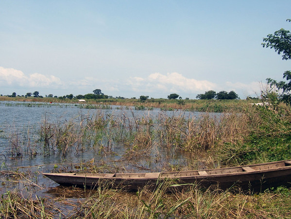 Lake Volta Boat: Day's work is done