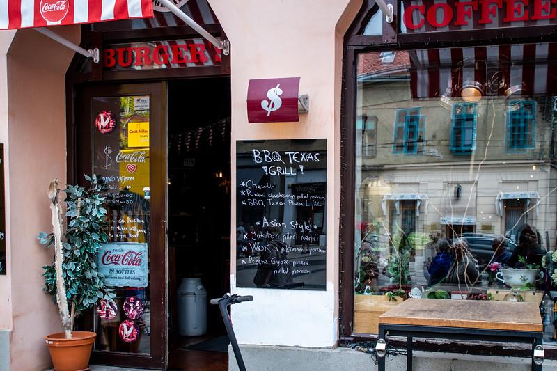 Croatian's version of an American bar.