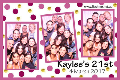Kaylee's 21st - 4 March 2017