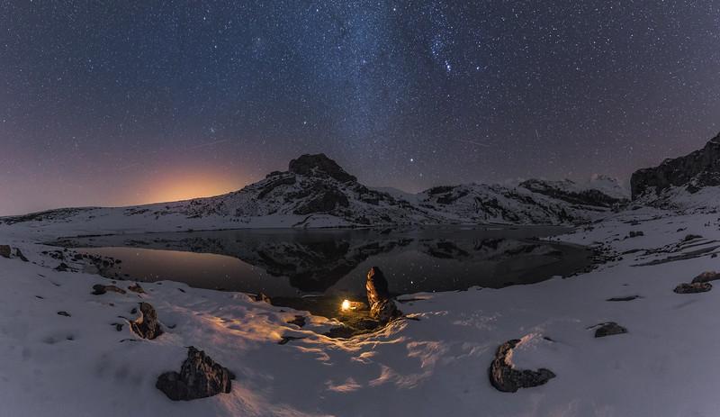 Covadonga Lakes, Picos de Europa National Park. Asturias, Spain.