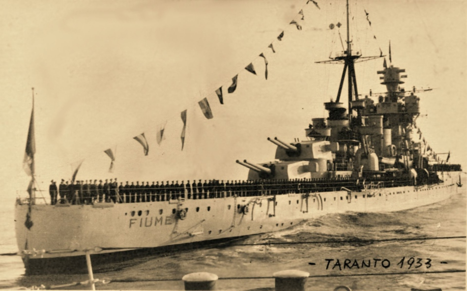 The Italian Cruiser Fiume.