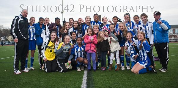 MHS Varsity Girls Soccer GROUP IV STATE SECTIONAL CHAMPIONS!